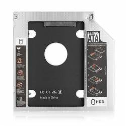 EWENT ADAPHDD SSD SATA PARA UNIDAD oPTICA 95mm