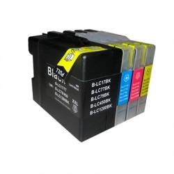 INKOEM Cartucho Compatible Brother LC1280XXC Cian