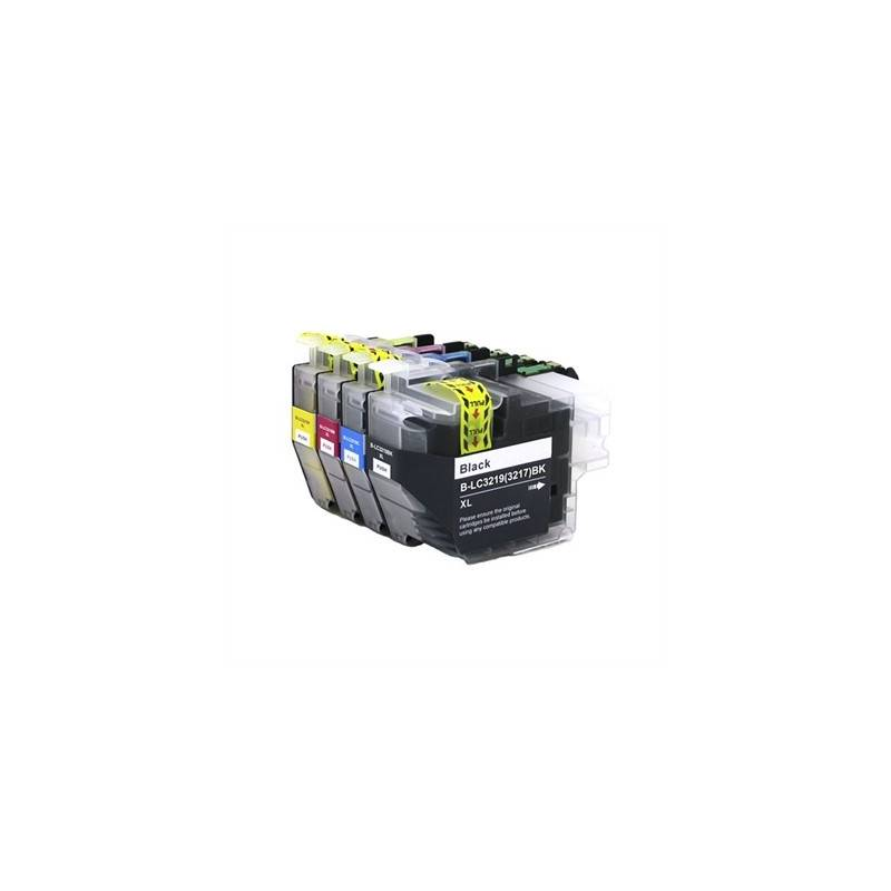 INKOEM Cartucho Compatible Brother LC3219XL Cian