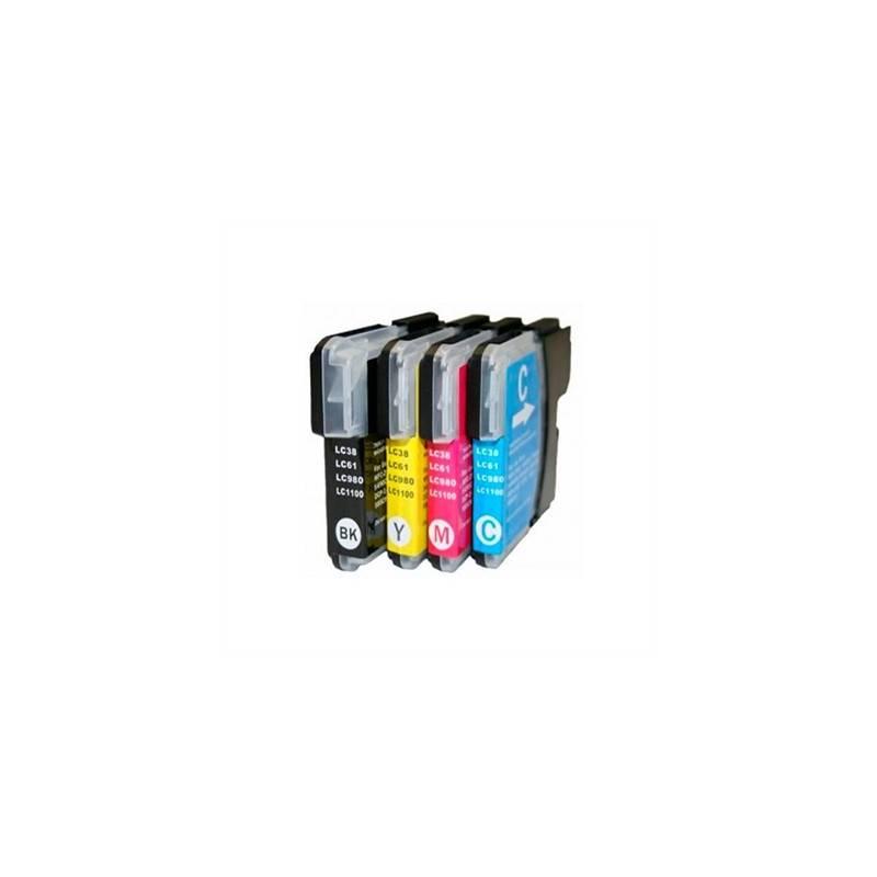 INKOEM Cartucho Compatible Brother LC980XL 1100XLC