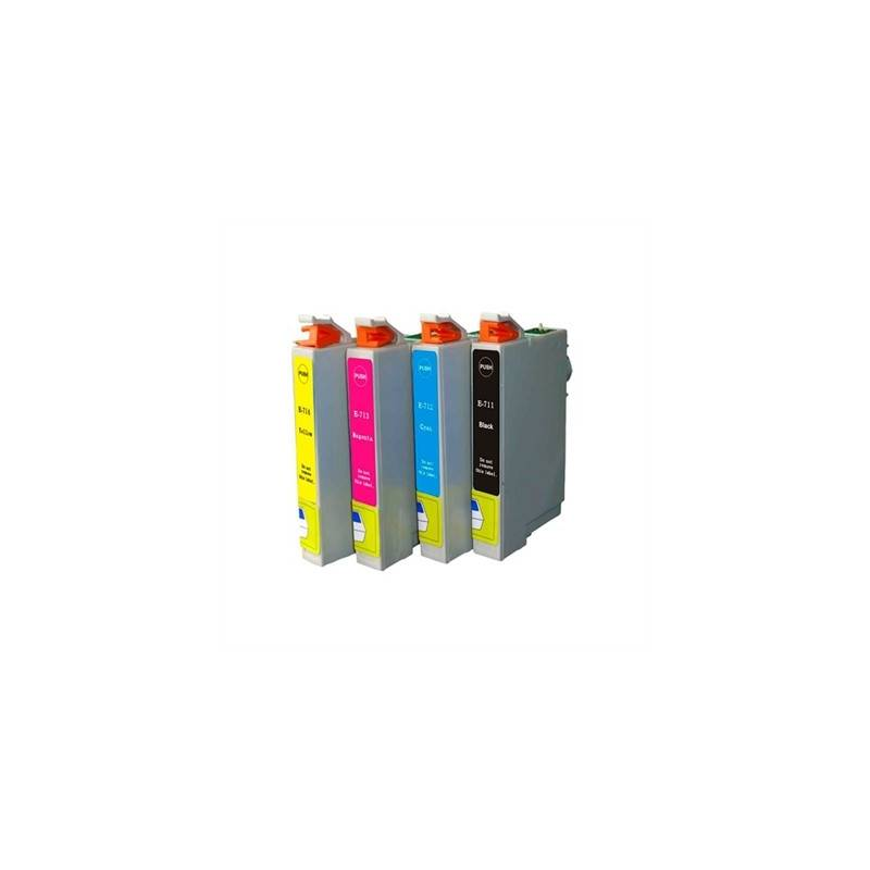 INKOEM Cartucho Compatible Epson T0712 Cian