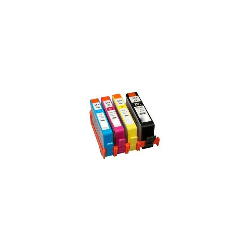 INKOEM Cartucho Compatible HP N364 XL CB323EE Cian
