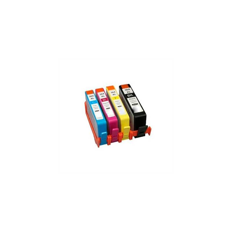 INKOEM Cartucho Compatible HP N364 XL CN684EE Negr