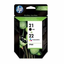 HP SD367AE pack cartuchos NegroTricolor HP21HP22