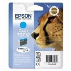 Epson Cartucho T0712 Cian