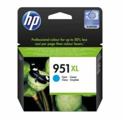 HP no951XL Cartucho Cyan CN046A Office Pro 8600