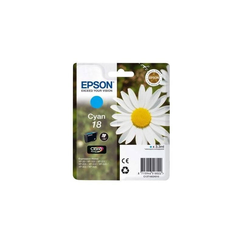 Epson Cartucho T1802 Cian