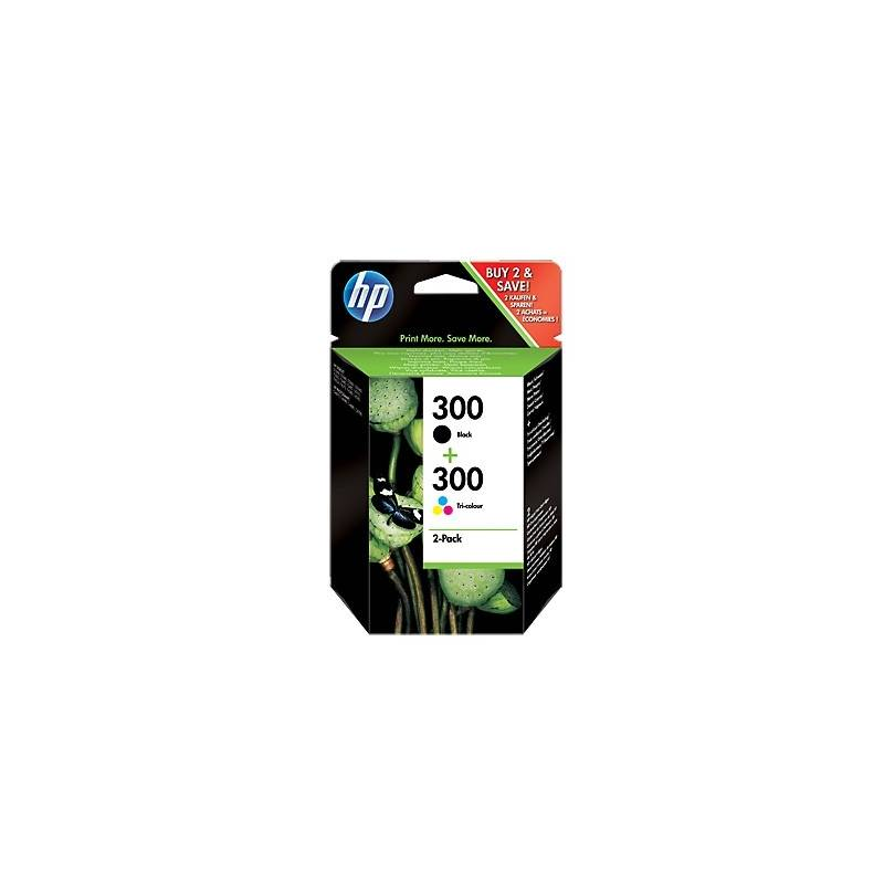 HP Multipack 1x300 Negro 1x300 Color CN637