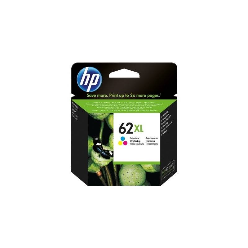 HP 62XL Cartucho Tricolor C2P07AE Officejet 5740