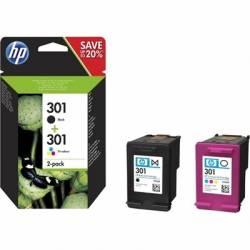 HP Multipack 1x301 Negro 1x301 Color