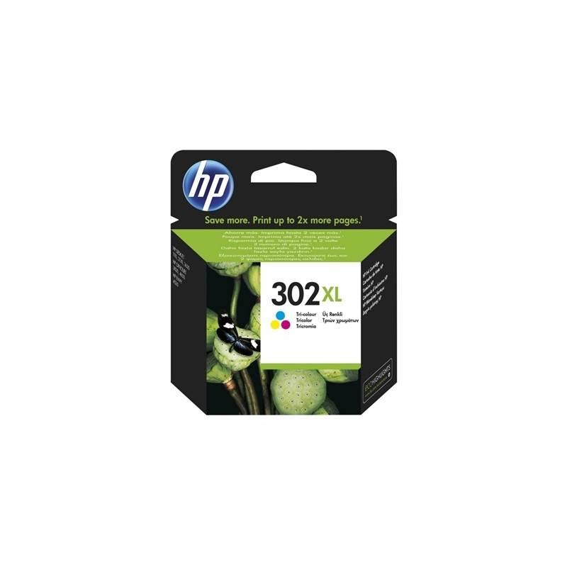 HP 302XL F6U67AE cartucho color Officejet 3830