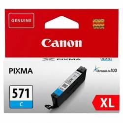 Canon Cartucho CLI 571CY XL Cian