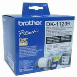 BROTHER Etiquetas Direcciones 62x29 Blancas