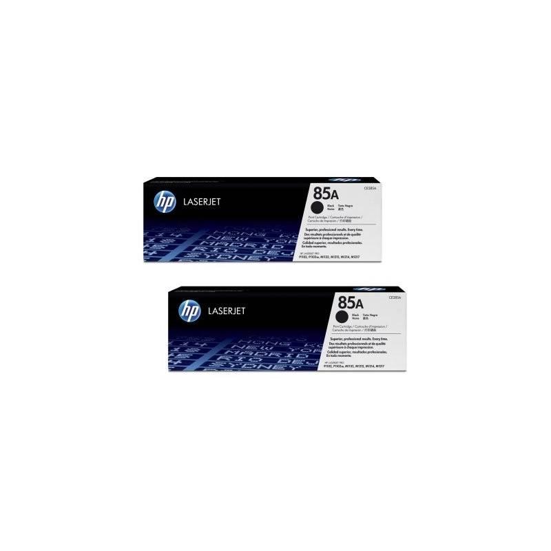 HP 85A CE285AD toner Laserjet negro pack 2 unid