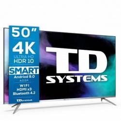 TD Systems K50DLJ12US TV50 4K STVAnd 2xUSB 3xHDMI