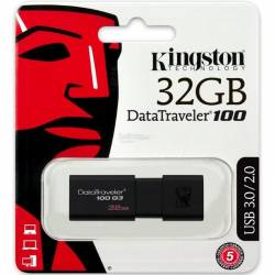 Kingston DataTraveler DT100G3 32GB USB 30 Negro