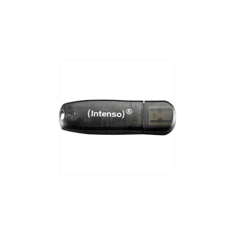 Intenso 3502470 Lapiz USB Rainbow line 16GB Negro