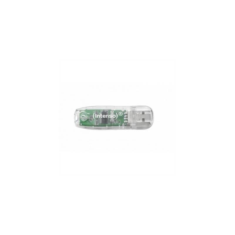 Intenso 3502480 Lapiz USB Rainbow line 32GB Transp