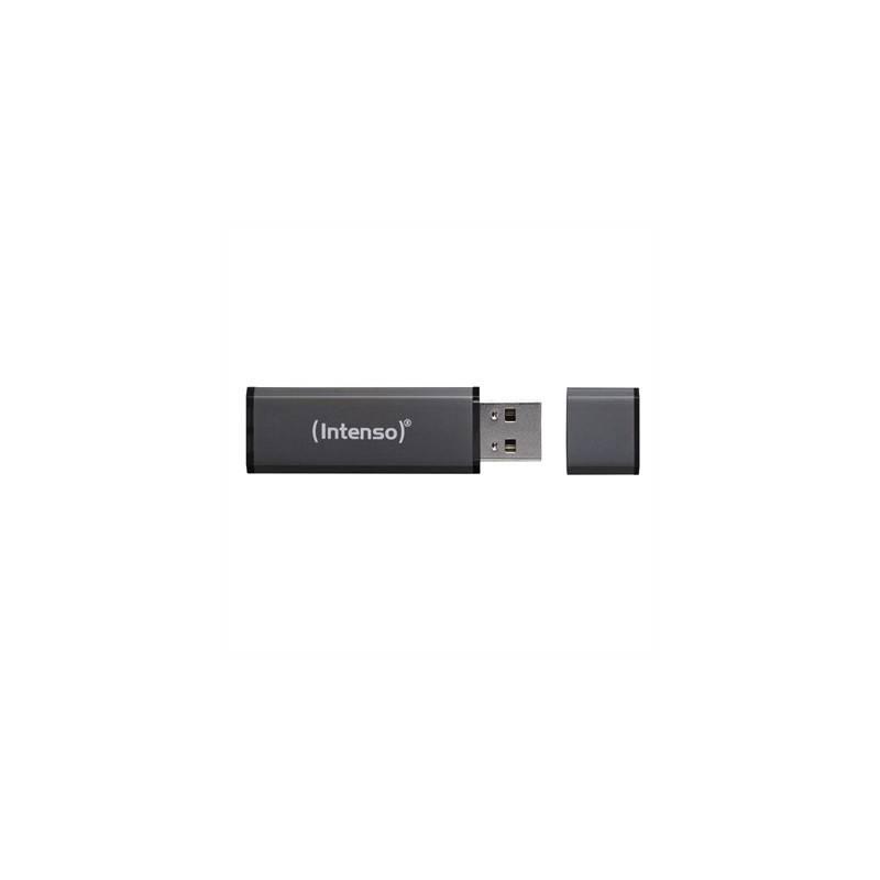 Intenso 3521491 Lapiz USB Alu line 64GB Antracita