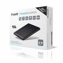 TooQ TQE 2529B caja HD 25 SATA3 USB 30 Negra