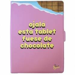 Tan Tan Fan Funda Tablet 10 Vecina Rubia Chocolat