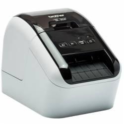 Brother QL 800 Impresora Etiquetas negro rojo