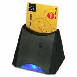 Active Key Lector smart card USB Negro