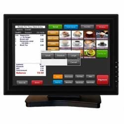 VivaPos Monitor Tactil 15 T1505 LCD USB Negro