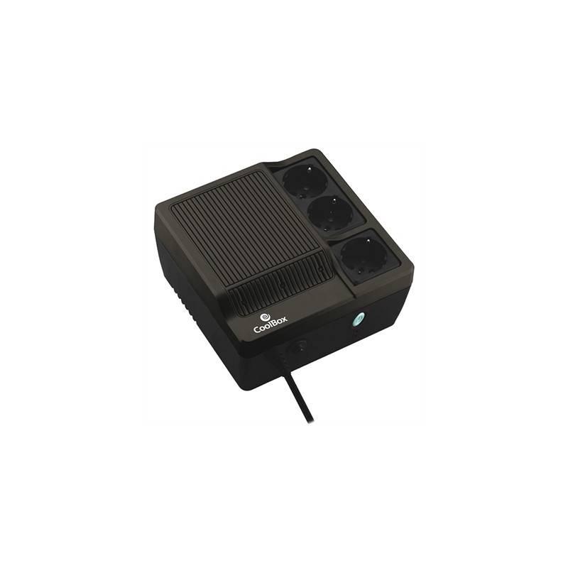 CoolBox SAI Scudo 600 negro 600VA