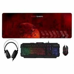 Mars Gaming TecladoRaton 4 en 1 RGB