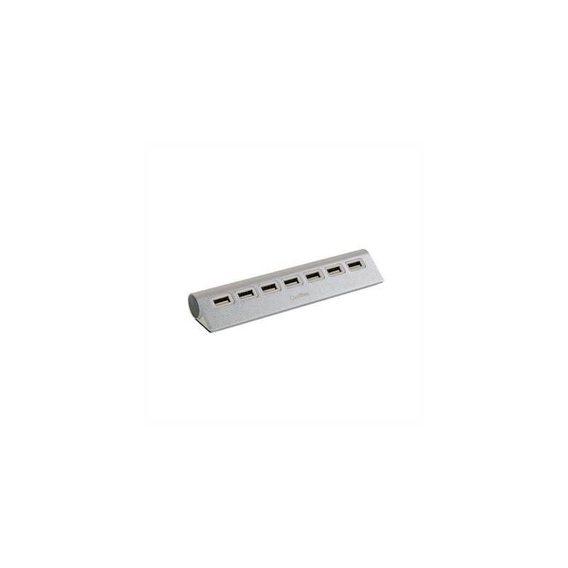 CoolBox Hub aluminio 7 Puertos USB20