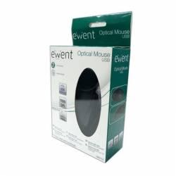 EWENT EW3152 Raton Optico USB 1000 dpi Negro