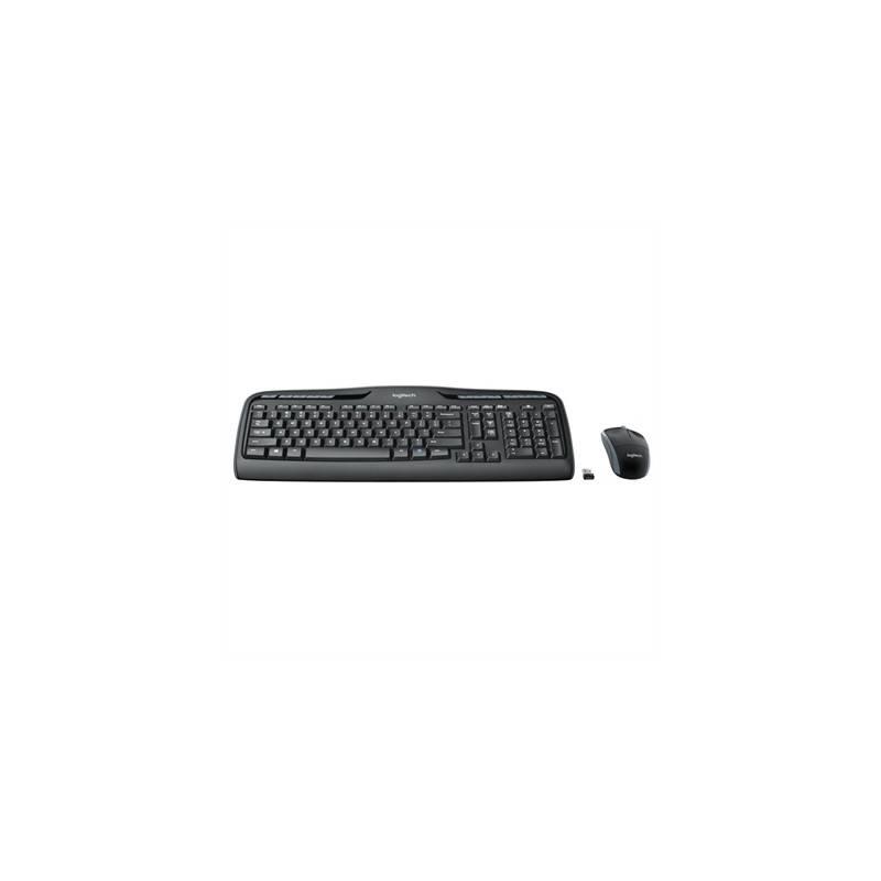 Logitech Teclado Raton MK330 USB Negro