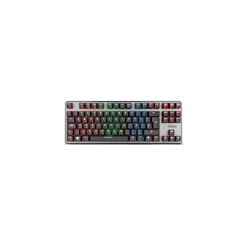 Krom Teclado mecanico RGB Krom KERNEL TKL ten key