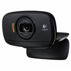 Logitech Webcam HD C525 Negra