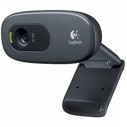 Logitech C270 WebCam HD 720p 3Mpx USB Negra