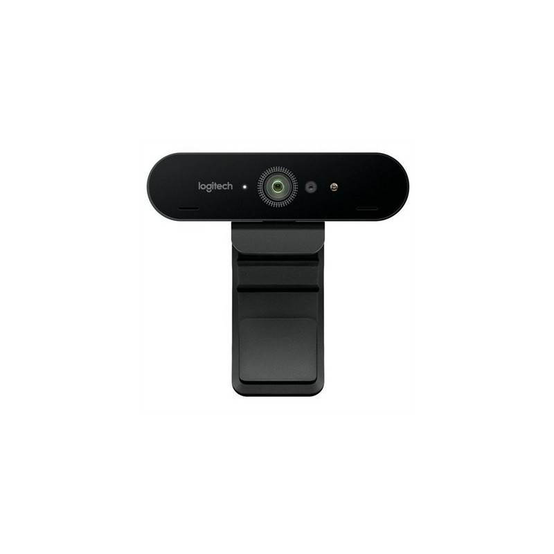 Logitech BRIO Camara Web 4K Ultra HD con RightLigh