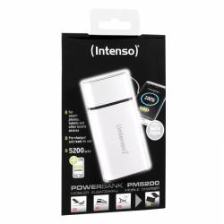 Intenso Powerbank PM 5200mAh Metal Finish Blanco