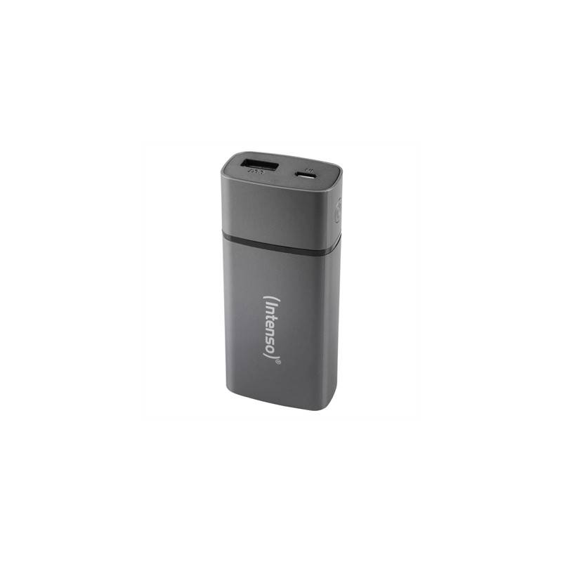 Intenso Powerbank PM 5200mAh Metal Finish Gris