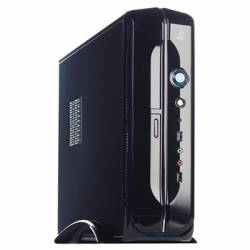 Hiditec Caja Micro ATX Slim10 Negra 450W USB30