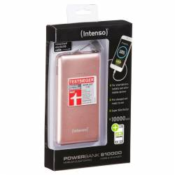 Intenso Powerbank Slim 10000 mAh Rosa 50V 21A