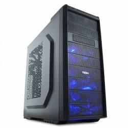 NOX Caja Semitorre ATX Coolbay SX Sin Fuente Negro