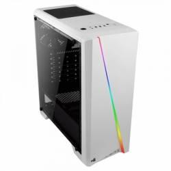 Aerocool Caja Semitorre CYLON RGB BLANCA USB30