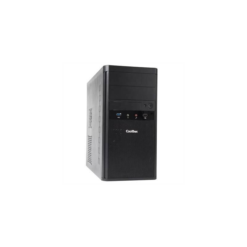 CoolBox Caja MicroATX M55 2xUSB30 BASIC GR