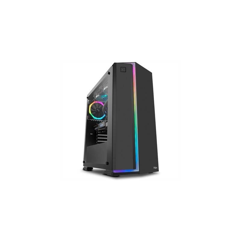 Nox Caja Semitorre ATX Infinity NeonRGB